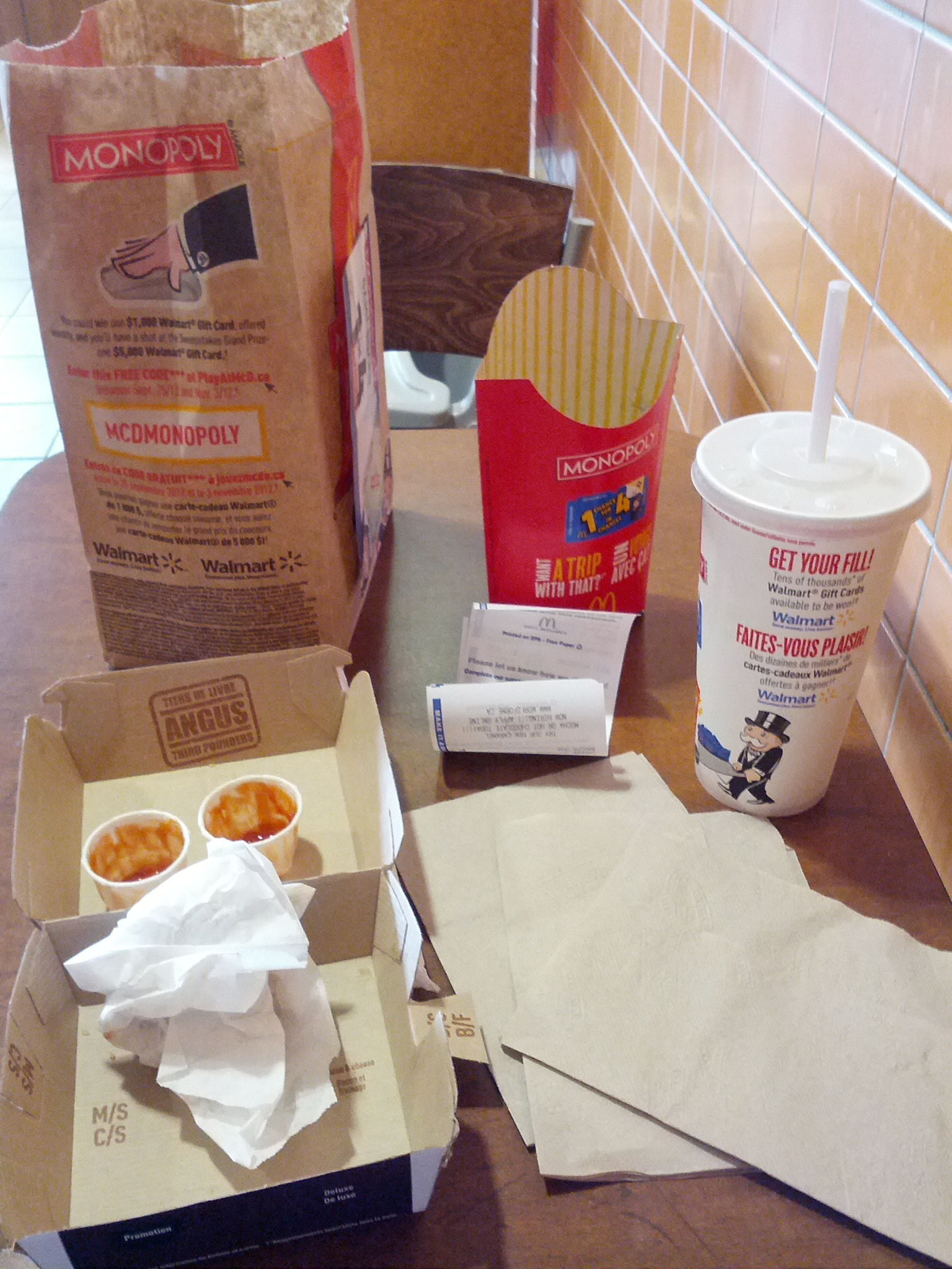 Paradigm Shift: Fast Food Garbage
